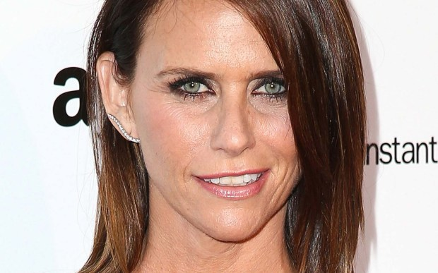 "Movie actress Amy Landecker — ""A Serious Man,"" ""Enough Said"" — is 47. (Getty Images: Imeh Akpanudosen)"