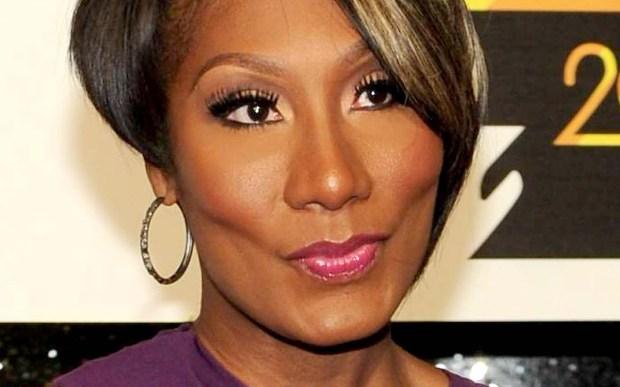 Singer Towanda Braxton is 43. (Associated Press: Frank Micelotta)
