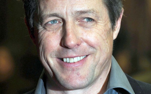 """Actor Hugh Grant — """"About a Boy,"""" """"Notting Hill,"""" """"Four Weddings and a Funeral"""" — is 56. (Getty Images: Carl Court)"""