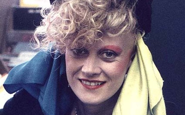 Hold Her Now. The Thompson Twins' Alannah Currie — shown with big hair in 1985 — is 59. (Courtesy of imvdb.com)
