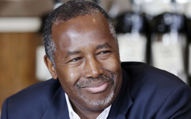 Who's this guy? Well, he could become president in 2016. Republican candidate Ben Carson is 65. (Associated Press: Danny Johnston)