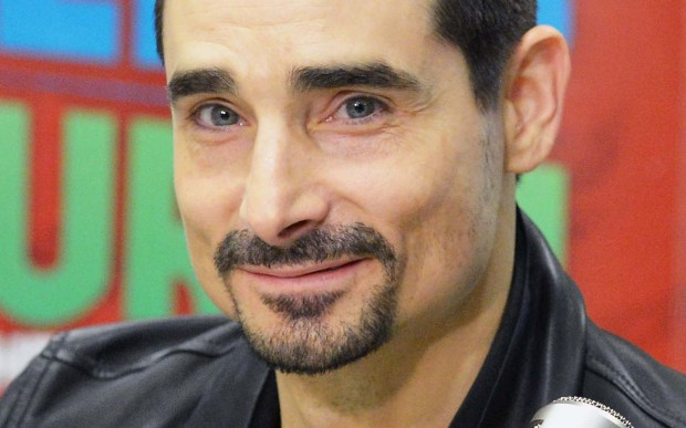 Singer Kevin Richardson of the Backstreet Boys is 45. (Getty Images: Slaven Vlasic)
