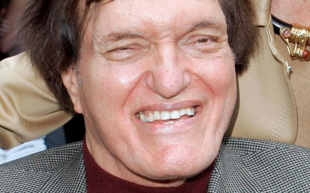 """Actor Richard Kiel was born on this day and died Sept. 10, 2014. He had the role of James Bond nemesis Jaws in """"The Spy Who Loved Me"""" and """"Moonraker"""" is 74. Says IMDb described this familiar face as: """"Towering 7' 2"""" tall actor who has cornered the market on playing giants, intimidating henchman, bayou swamp monsters and steel-toothed villains!"""" (Associated Press: Mark J. Terrill)"""