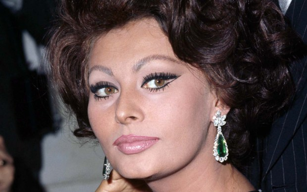 Actress Sophia Loren — shown in 1965 — is glorious today. See the 82-year-old later in the show. (Getty Images: George Freston)