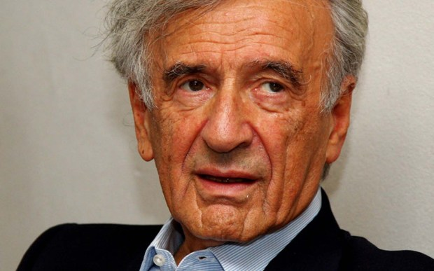 Elie Wiesel, a Holocaust survivor, best-selling author and Nobel Prize winner was born on this day in 1928. He passed away July 2, 2016. (Getty Images: Vittorio Zunino Celotto)