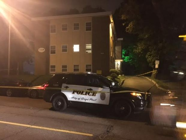 Police are investigating the stabbing death of a man in the 400 block of Grand Avenue in St. Paul. (Courtesy St. Paul police)