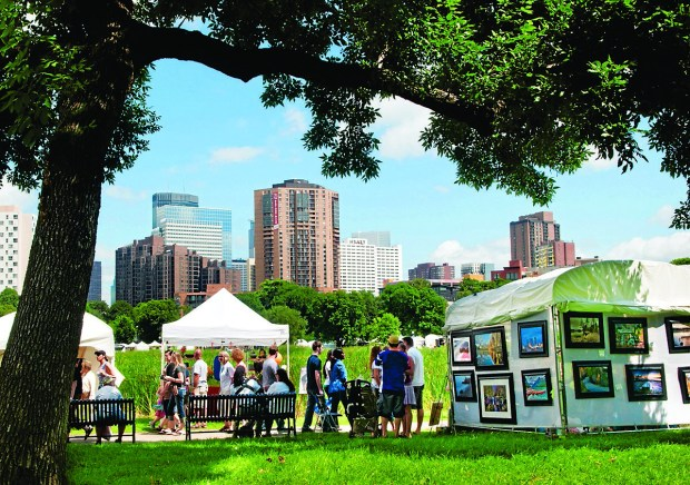 The Loring Part Arts Festival in Minneapolis is a juried art show featuring more than 140 artists.