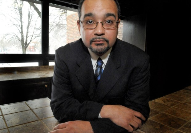 The new head of the St Paul chapter of the NAACP, Jeffry Duane Martin--at The Martin Luther King Center in St. Paul Monday morning January 11, 2011.(Pioneer Press: John Doman)