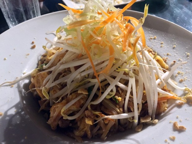 Sept. 28, 2016 photo of Pad Thai at Thai Garden in St. Paul. (Pioneer Press: Nancy Ngo)