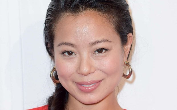 """Actress Michelle Ang of """"Fear of the Walking Dead"""" is 33. (Associated Press: Richard Shotwell)"""