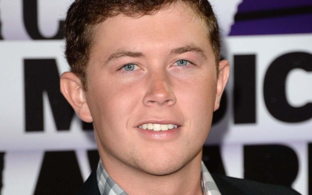 Alfred E. Neuman? No, it's country singer and American Idol find Scotty McCreery, who is 23. (Getty Images: Jason Merritt)