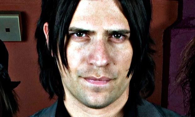 Hinder frontman Austin Winkler is only 29 but already is in the Oklahoma Music Hall of Fame. (AP Photo/Jim Cooper)