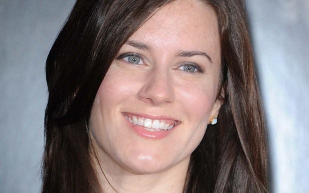 "Actress Katie Featherston of ""Paranormal Activity"" is 34. (Associated Press: Richard Shotwell)"