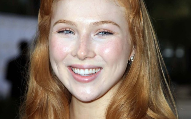 "Actress Molly C. Quinn of ""Castle"" and the movie ""We're the Millers"" is 23. (Getty Images: David Buchan)"