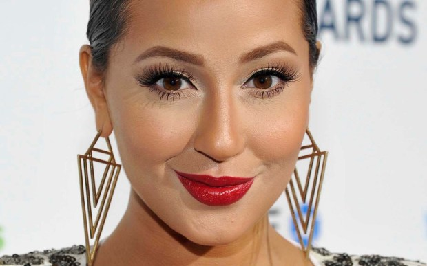 "Singer-actress Adrienne Bailon of 3LW (""The Cheetah Girls"") is 33. (Getty Images: John Sciulli)"