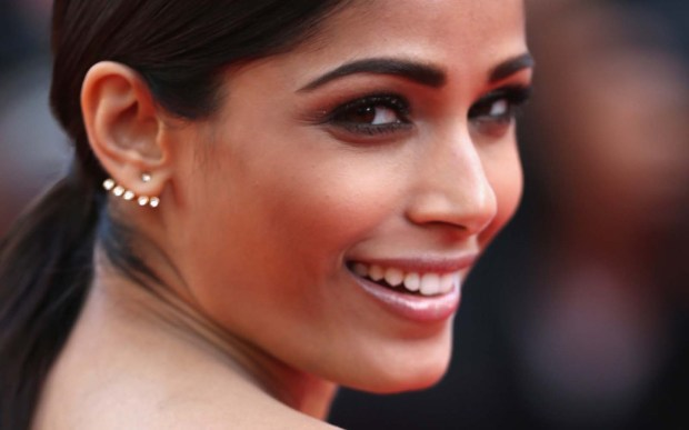 "Actress Freida Pinto — ""Slumdog Millionaire,"" ""Rise of the Planet of the Apes"" — is 32. (Getty Images: Andreas Rentz)"