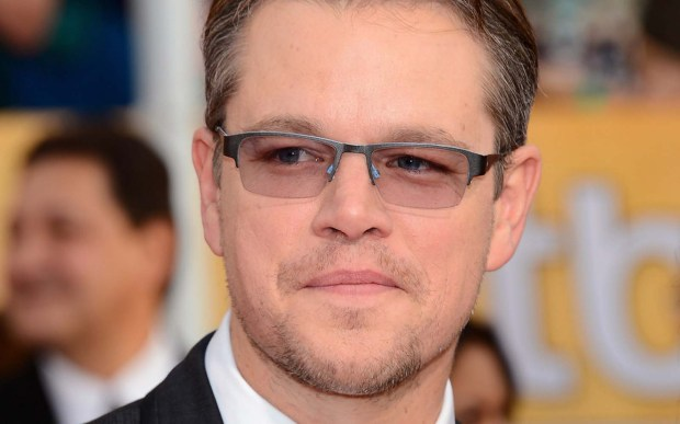 "Actor-screenwriter Matt Damon — The Martian,"" ""The Bourne"" movies, ""Elysium,"" to name a few recent acting credits — is 46. (Getty Images: Ethan Miller)"