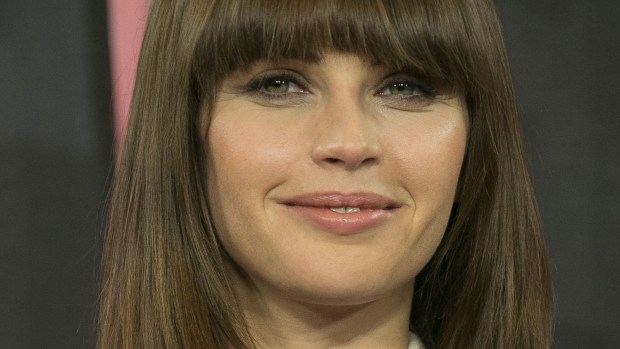 """Actress Felicity Jones -- """"The Theory of Everything,"""" """"The Amazing Spider-Man,"""" and now """"Rogue One: A Star Wars Story"""" -- is 33. (Joel Ryan/Invision/AP)"""