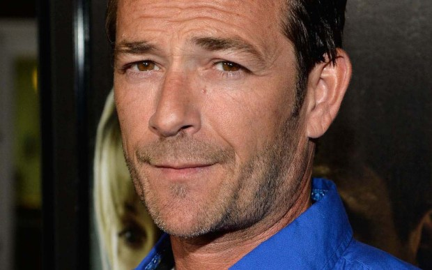 "Actor Luke Perry of ""Beverly Hills, 90210"" and ""Body of Proof"" is 50. (Getty Images: Frazer Harrison)"