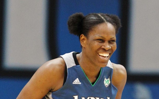 Former Lynx power forward Taj McWilliams-Franklin is 46. (Associated Press: Genevieve Ross)