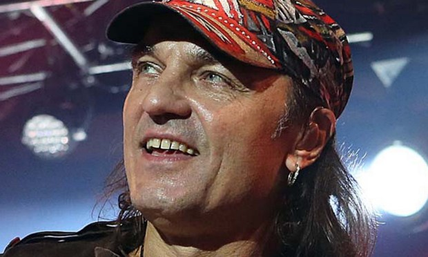 Guitarist Matthias Jabs of the German rock group Scorpions is 58. (FRANCOIS NASCIMBENI/AFP/Getty Images)