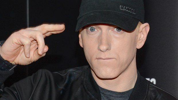 "Rapper Eminem is 44. Hear Marshall Mathers's Oscar-winning song ""Lose Yourself,"" from ""8 Mile,"" which he also starred in. (Evan Agostini/Invision/AP)"