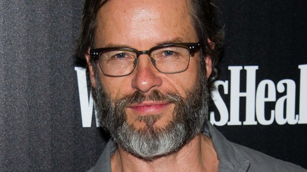 "Actor Guy Pearce of ""Jack Irish"" is 49. (Charles Sykes/Invision/AP)"