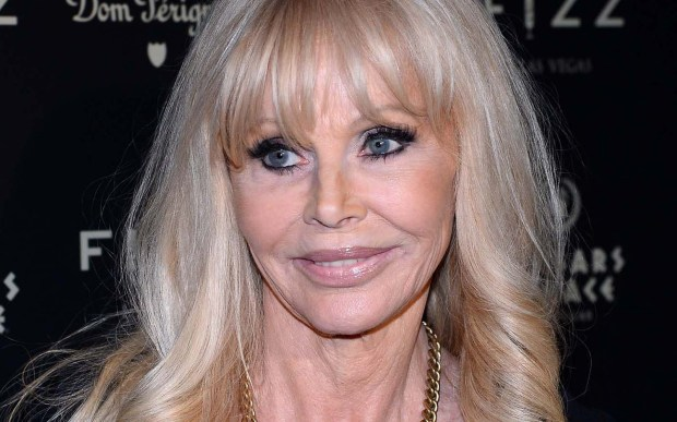 "Actress and former Bond girl Britt Ekland — Bond girl in ""The Man with the Golden Gun"" — is 74. She was married to Peter Sellers and also dated Rod Stewart. (Ethan Miller/Getty Images)"