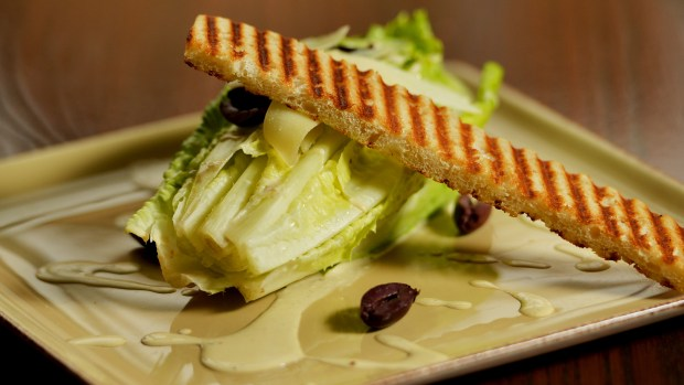 Caesar salad at Herbie's on the Park in St. Paul on Tuesday, Oct. 25, 2016. (Pioneer Press: John Autey)