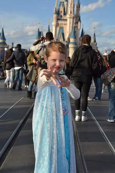 Alexa Kirkwood, 8, of Oakdale, celebrated kicking cancer's butt in February at Disney World, thanks to Make-A-Wish Minnesota.