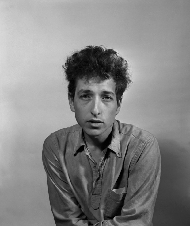 "FILE-- Bob Dylan in New York in 1963. Dylan, one of the world's most influential rock musicians, was awarded the Nobel Prize in Literature on Oct. 13, 2016, for ""having created new poetic expressions within the great American song tradition,"" in the words of the Swedish Academy. (William C. Eckenberg/The New York Times)"