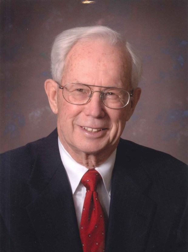 Dode Simonet, the former vice president of Simonet Furniture and Funeral Home in Stillwater, died Friday of congestive heart failure at Boutwell Landing Senior Center in Oak Park Heights. He was 92. (Courtesy: Simonet Family)