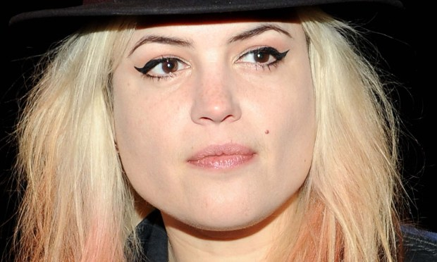 Singer Alison Mosshart of alt-rock bands the Kills and the Dead Weather is 38. (Getty Images: Ben Gabbe)