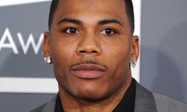Rapper Nelly is 40. (Photo by Jordan Strauss/Invision/AP)