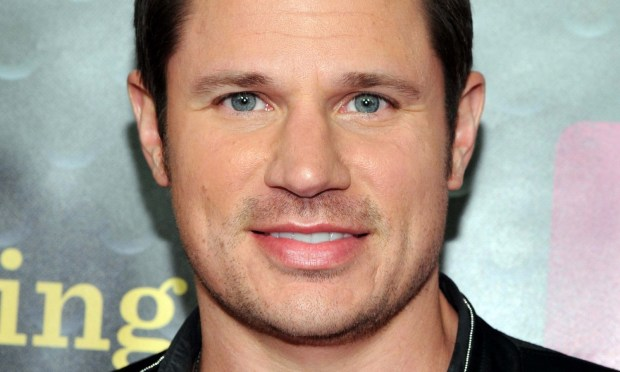 "As promised, former 98 Degrees lead singer Nick Lachey — the former Mr. Jessica Simpson, of ""Newlyweds: Nick & Jessica"" — is 43. (Getty Images: Ilya S. Savenok)"