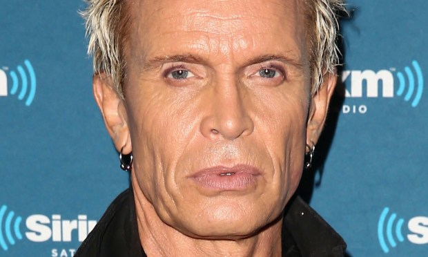 Singer Billy Idol, who played at St. Paul's Turf Club in 2015, is 61. (Getty Images: Imeh Akpanudosen)