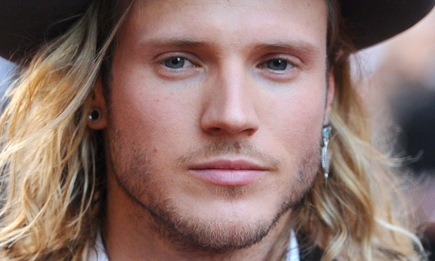 Dougie Poynter, bassist of British band McFly, is 29. (Getty Images: Anthony Harvey)