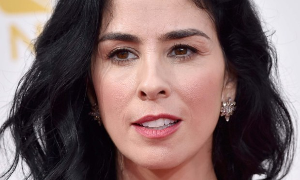 "Comedian Sarah Silverman of ""The Sarah Silverman Program"" and other super-profane, funny shows, is 46. (Getty Images: Frazer Harrison)"