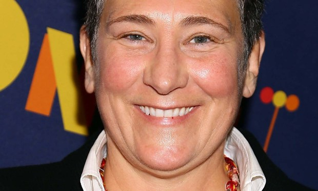 Singer k.d. lang is 53. (Photo by Astrid Stawiarz/Getty Images)