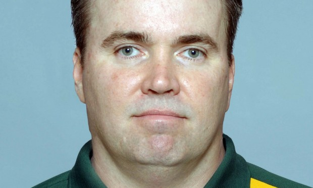 Green Bay Packers coach Mike McCarthy is 53. (NFL via Getty Images)