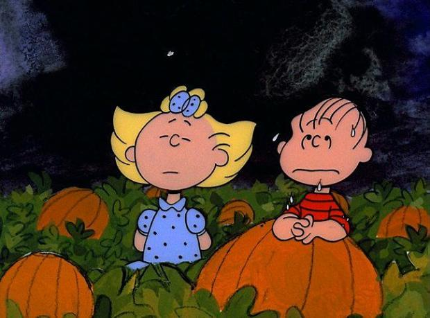 """A scene from the classic animated Halloween-themed PEANUTS special, """"It's the Great Pumpkin, Charlie Brown,"""" created by late cartoonist Charles M. Schulz. (©1966 United Feature Syndicate Inc.)"""