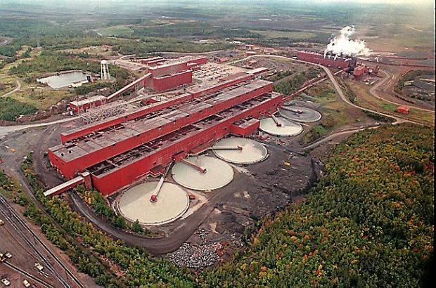 This undated file photo shows the LTV Steel processing plant near Hoyt Lakes, Minn., which was taken over by PolyMet Mining Corp. to use as a copper-nickel processing plant. Department of Natural Resources Commissioner Tom Landwehr plans to decide about February whether to certify as adequate the final environmental impact statement on the proposed PolyMet copper-nickel mine. (AP Photo/Mesabi Daily News,File)