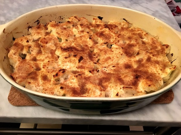 Cauliflower Gratin for Thanksgiving. (Pioneer Press: Jess Fleming)