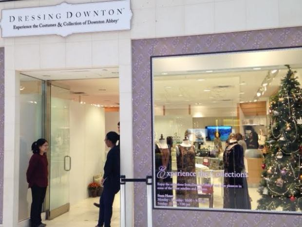 """""""Dressing Downton"""" is located near Nordstrom's, on the first level of Mall of America."""
