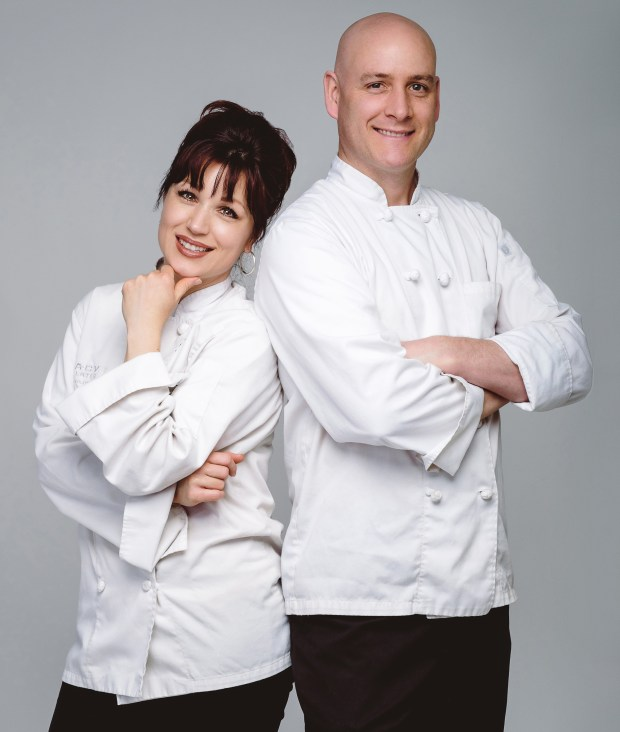 Lorraine and Mark Dixon of Legacy Chocolates in St. Paul. (Courtesy photo)