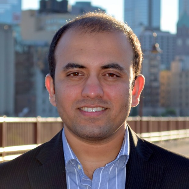 Murtaza Lakdawala, founder of Welltwigs LLC. (Photo courtesy James J. Hill Center