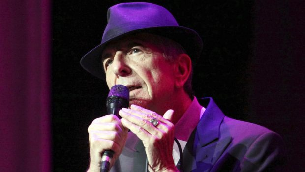 In this March 22, 2013 file photo, Leonard Cohen performs on the Old Ideas World Tour, at The Fabulous Fox Theatre in Atlanta. (Photo by Robb D. Cohen/RobbsPhotos/Invision/AP, File)
