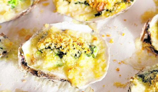 Topping the oysters with Japanese-style panko breadcrumbs produces an extra-crunchy crust. (Dreamstime.com)