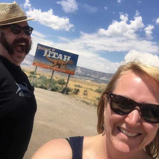 Christie Wanderer and Andrew Mosiman plan to open Wanderer Distillery Co. in downtown Stillwater next spring. The couple, pictured in an undated photo in Utah, plans to produce and distill vodka, rum gin and whiskey. (Courtesy: Wanderer Distilling Co.)