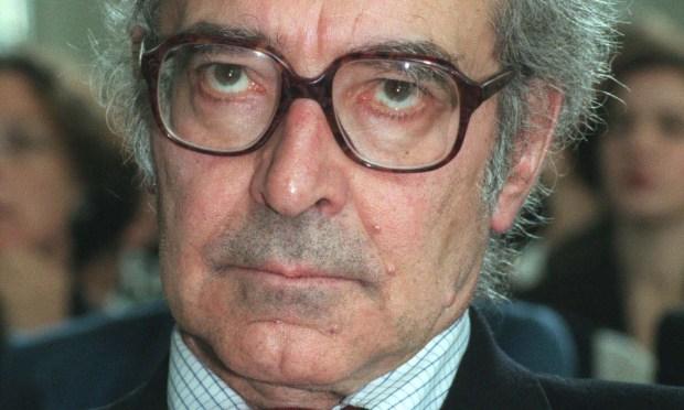 "Director Jean-Luc Godard -- ""Breathless,"" ""Vivre Sa Vie"" -- is 86. (Associated Press: Bernd Kammerer)"
